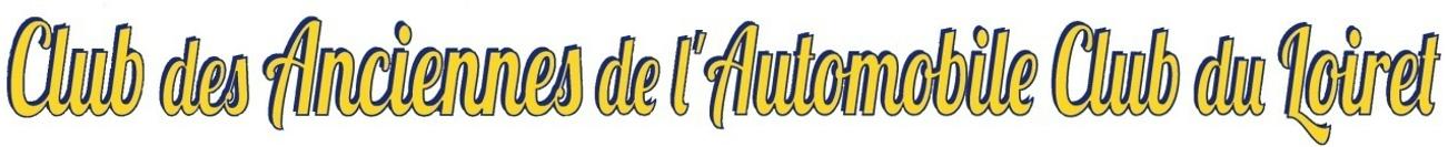 Clubs des anciennes de l'automobile club du Loiret